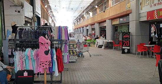 המרכז המסחרי בדימונה / צילום: עמרי זרחוביץ', גלובס