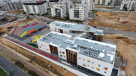 בית הספר היסודי נווה זמר, רעננה / צילום: שמוליק אללי, עיריית רעננה