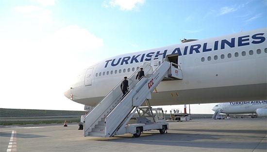 """מטוס של טורקיש איירליינס / צילום: יח""""צ"""