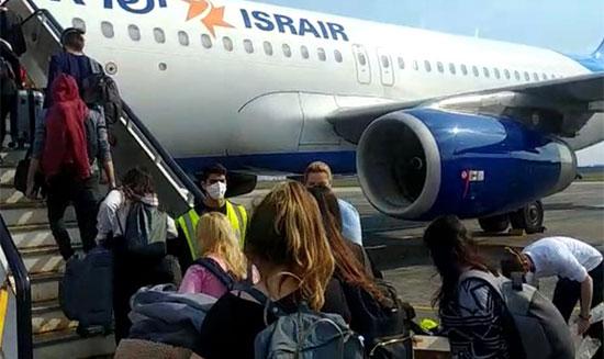 """עולים על טיסת ישראייר ממולדובה / צילום: יח""""צ"""