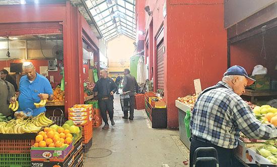 שוק חדרה / צילום: גיא נרדי