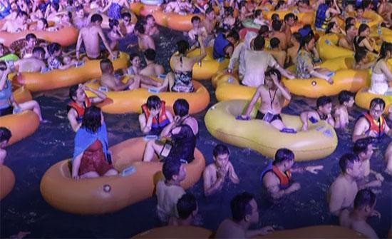 מתוך חגיגות פסטיבל המוזיקה האלקטרונית בווהאן / צילום: מתוך יוטיוב