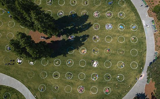 """פארק עם מקומות מסומנים בסן פרנסיסקו, ארה""""ב / צילום: shutterstock, שאטרסטוק"""