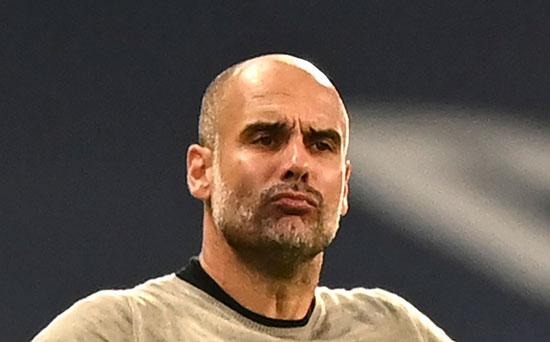 פפ גווארדיולה, מאמן מנצ'סטר סיטי. שיתוף הפעולה עם מסי יחודש? / צילום: Shaun Botterill, Associated Press