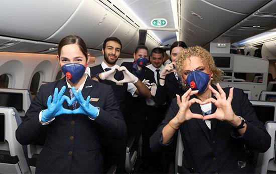 דיילי אל על בטיסה לפרו / צילום: סיון פרג'
