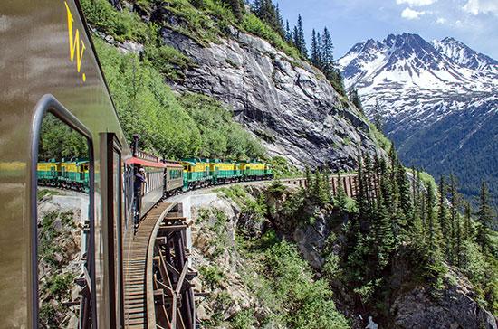 רכבת לסקאגווי, אלסקה / צילום: shutterstock, שאטרסטוק