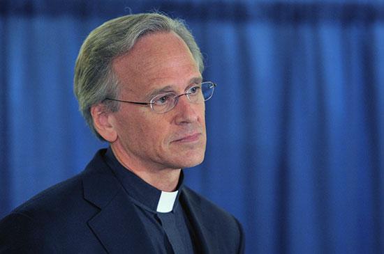 נשיא אוני' נוטרדאם, ג'ון ג'נקינס / צילום: Joe Raymond, Associated Press