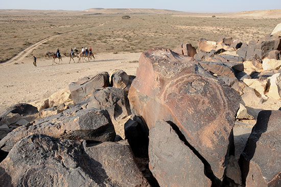 גבעת הכתובות, הגרפיטי של העולם העתיק / צילום: יותם יעקבסון