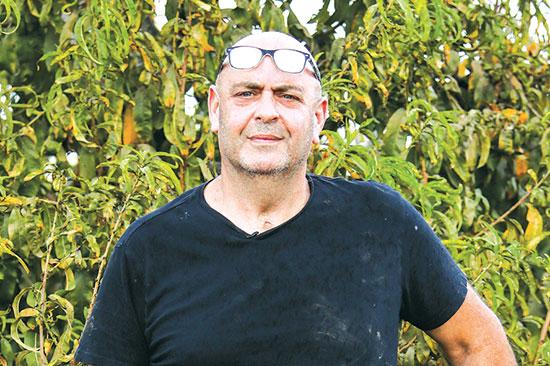 בועז כץ, חקלאי כפר סירקין   / צילום: שלומי יוסף, גלובס