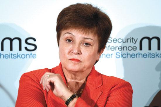 קריסטלינה גורגייבה, יושבת ראש קרן המטבע הבינלאומית / צילום: Jens Meyer, Associated Press