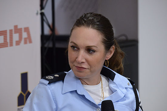 """סנ""""צ ליאת קילנר, מפקדת מפלג פל""""ס, משטרת ישראל / צילום: איל יצהר, גלובס"""