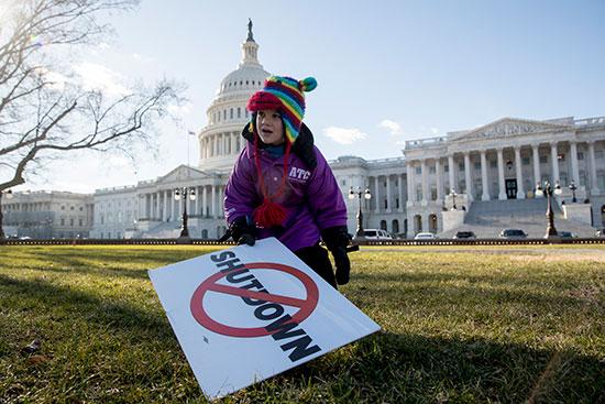 השבתת הממשל הארוכה ביותר בהיסטוריה האמריקאית / צילום: Andrew Harnik, Associated Press
