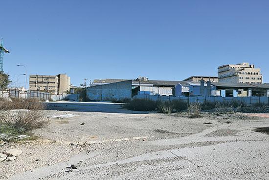 שטח במבנה תעשייתי בירושלים, תלפיות / צילום: יוסי זמיר