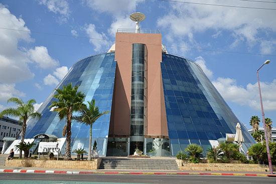 בניין משרדים בבעלות קרן הריט סלע קפיטל באור יהודה / צילום: אתר החברה