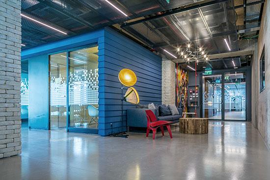משרדי SGI / צילום: עוזי פורת