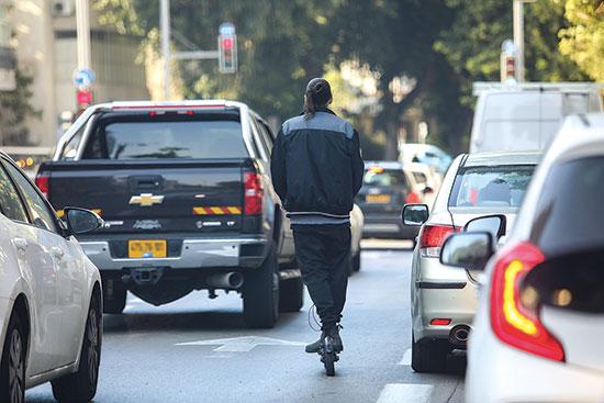כביש בתל אביב / צילום: שלומי יוסף, גלובס