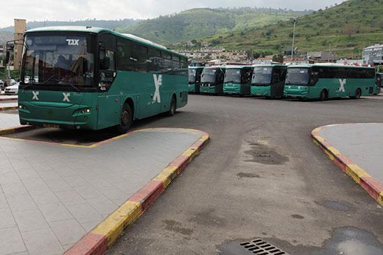תחנת אוטובוס אגד / צילום: אייל מרגולין
