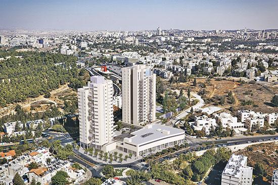 פרויקט של אלעד מגורים בירושלים / הדמיה: 3division