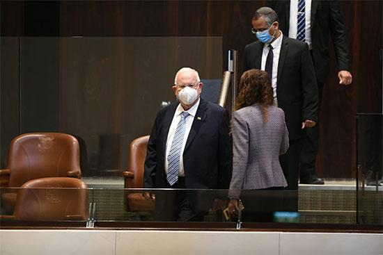 נשיא המדינה ראובן ריבלין בהשבעת הכנסת ה-35 / צילום: עמוס בן גרשום, דוברות הכנסת