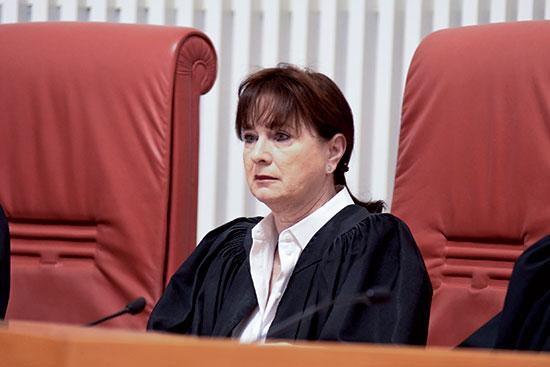 השופטת ענת ברון / צילום: רפי קוץ