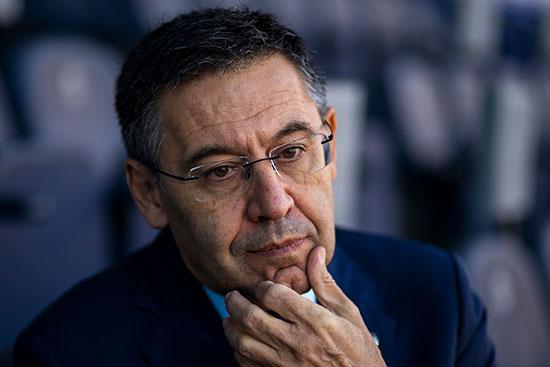 ז'וזפ ברתומאו, נשיא ברצלונה. יחסים עכורים עם הכוכב הגדול שלו / צילום: Emilio Morenatti, Associated Press
