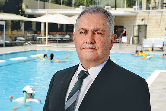 """רוני טימסיט, מנכ""""ל מלון ענבל בירושלים / צילום: איל יצהר, גלובס"""