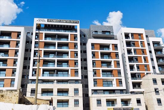 הבניין להשכרה בפרויקט הרובע של חברת גולדן ארט בחיפה  / צילום: קובי סרור