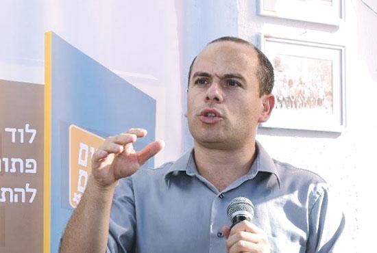 """בן מיוסט, יו""""ר החברה הכלכלית לוד / צילום: אלכס אטלס"""
