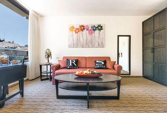 """סוויטה במלון ארבל / צילום: יח""""צ"""
