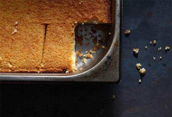 """עוגת בסבוסה / צילום: יח""""צ"""