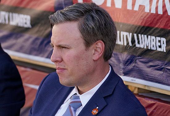 ביל סטפיין, מנהל הקמפיין של הנשיא נבדק / צילום: Evan Vucci, Associated Press