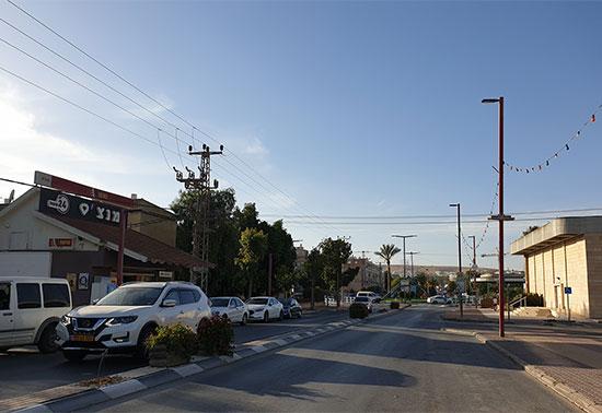 רחובות דימונה הריקים / צילום: עמרי זרחוביץ', גלובס