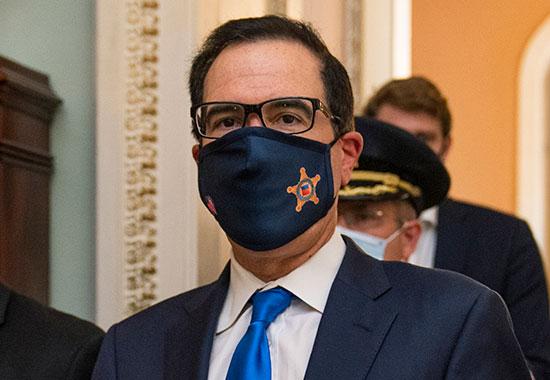 שר האוצר סטיב מנוצ'ין. חזר לשולחן המשא ומתן / צילום: Manuel Balce Ceneta, Associated Press