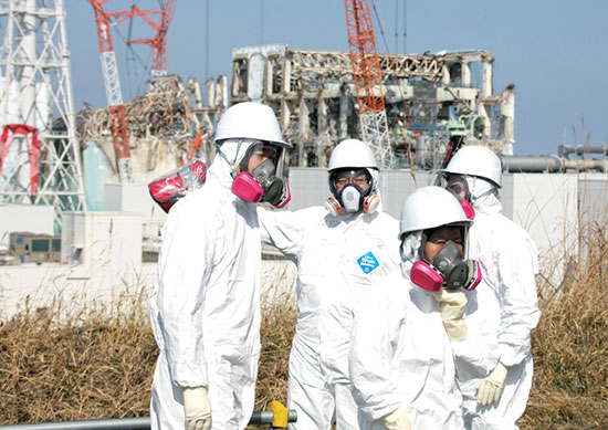 המתקן הגרעיני בפוקושימה, יפן / צילום: Kimimasa Mayam, Associated Press