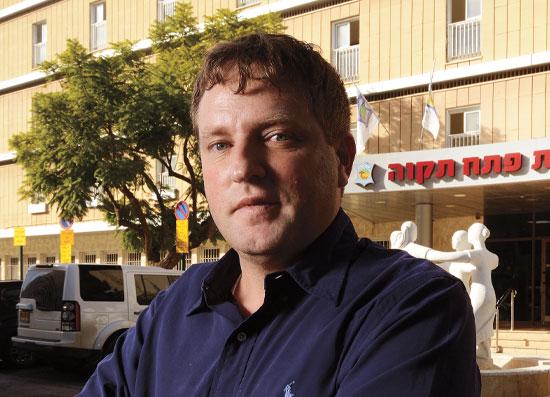 רמי גרינברג, ראש עיריית פתח תקווה / צילום: איל יצהר, גלובס