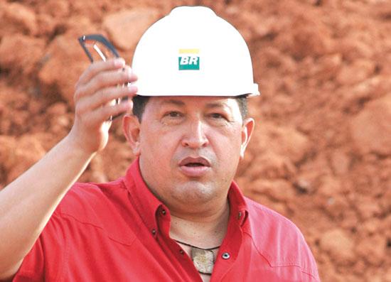 הנשיא לשעבר הוגו צ'אבס. חילק את הכסף לעניים / צילום: Eraldo Peres, Associated Press