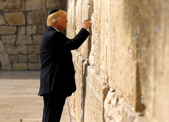 ביקור טראמפ בישראל / צילום: Jonathan Ernst, רויטרס