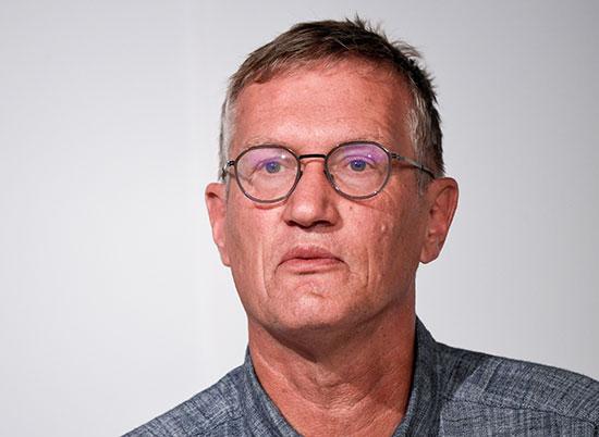 האפידמיולוג הראשי של שבדיה, אנדרס טגנל / צילום: רויטרס