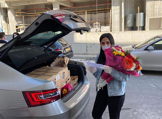 חבילות פסח לניצולי שואה  / צילום: הקרן לרווחת נפגעי השואה בישראל