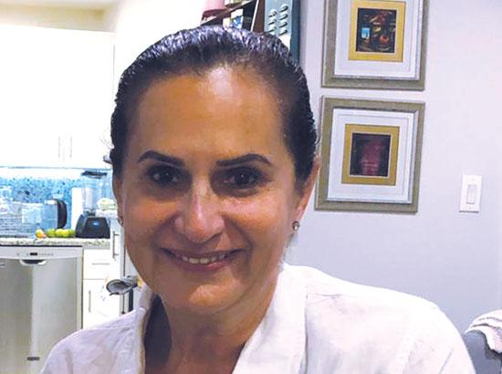 """צביה הוברמן. """"אני יוצאת דופן בקהילה הישראלית. כולם תומכים בטרמאפ""""  / צילום: תמונה פרטית"""