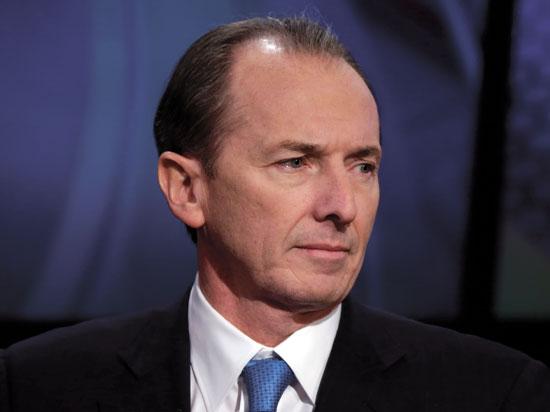 """ג'יימס גורמן, מנכ""""ל מורגן סטנלי / צילום: Richard Drew, Associated Press"""