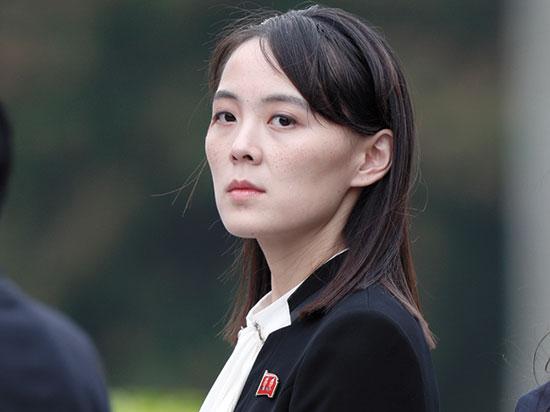 אחותו של קים ג'ונג און, קים יו ג'ונג / צילום: Jorge Silva, Associated Press