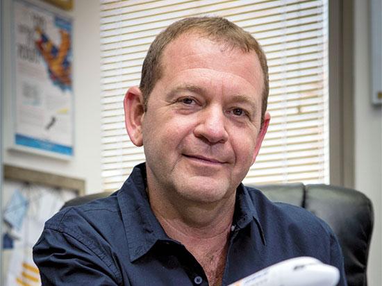 """אורי סירקיס, מנכ""""ל ישראייר / צילום: שלומי יוסף, גלובס"""