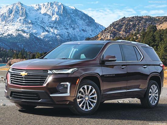 """Chevrolet-Traverse-2021-1 / צילום: יח""""צ"""