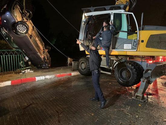 החילוץ / צילום: דוברות המשטרה