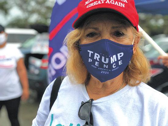 """אנג'י. """"הסקרים לא נכונים. טראמפ מנצח, כפי שניצח ב־2016"""" / צילום: טל שניידר, גלובס"""