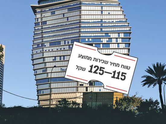 """מגדל Toha, יגאל אלון 114, ת""""א / צילום: shutterstock, שאטרסטוק"""