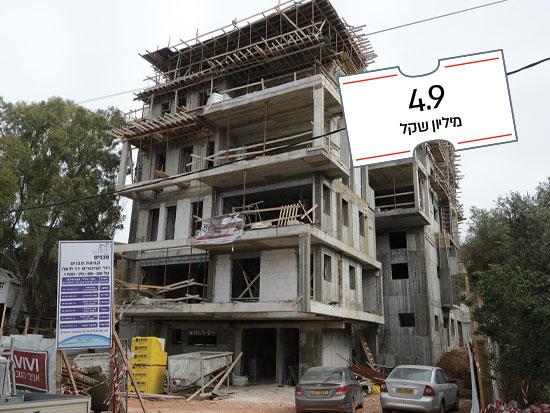 פנטהאוז במבנה לשימור ברחוב אחוזה, חיפה / צילום: איל יצהר, גלובס