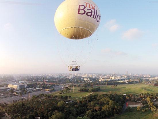 הכדור הפורח בפארק הירקון, תל אביב / צילום: TLV Ballon