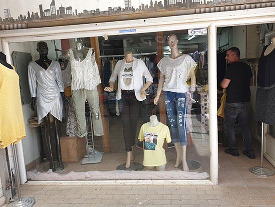 חלונות ראווה במרכז המסחרי, דימונה / צילום: עמרי זרחוביץ', גלובס